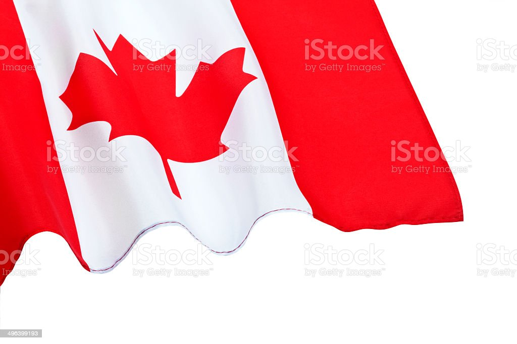 Flag Of Canada – Isolated With Clippng Path royalty-free stock photo