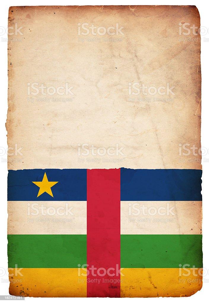 Flag of Central African Republic - XXXL stock photo