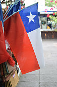 Flag of Chile on sale.