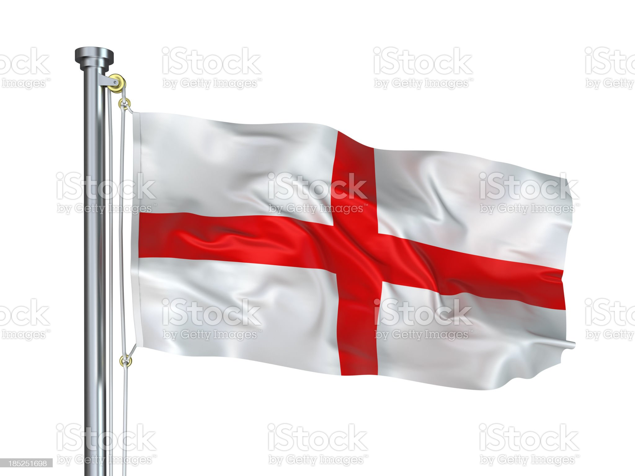 Flag of England royalty-free stock photo