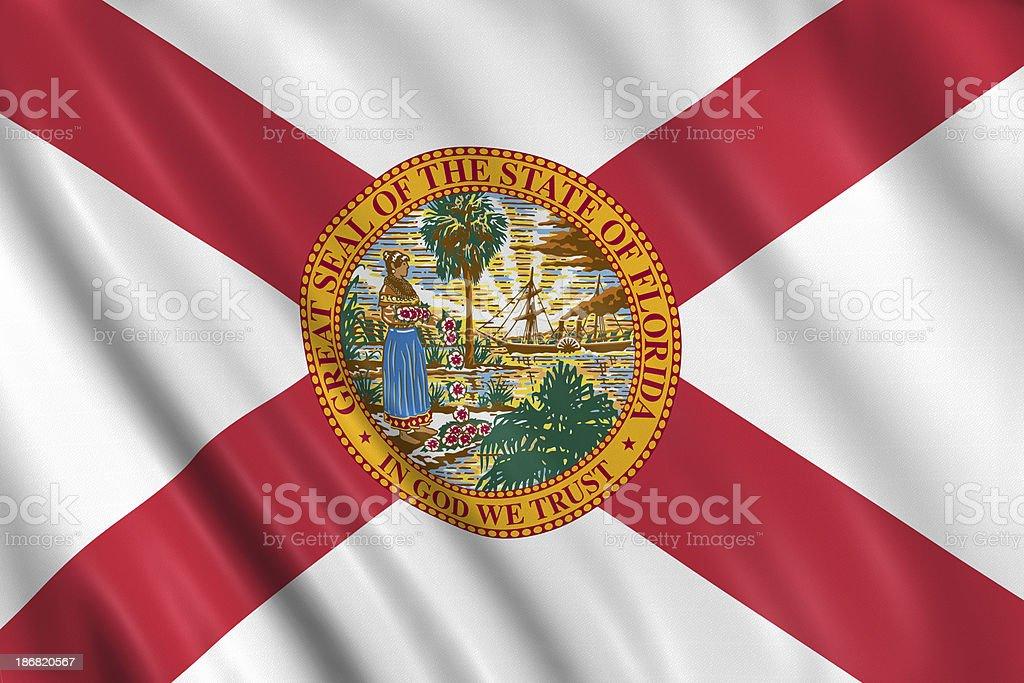 flag of florida royalty-free stock photo