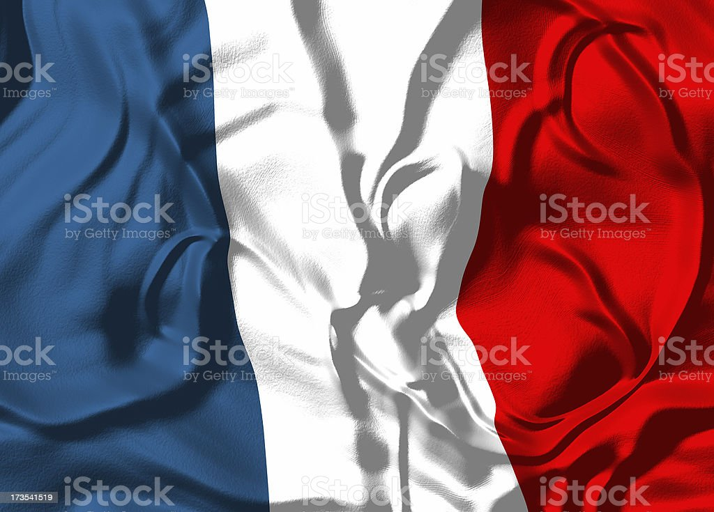 Flag of France royalty-free stock photo