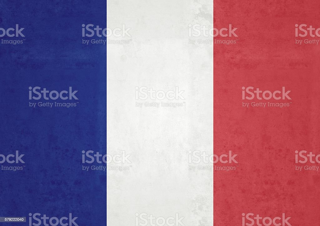 Flag Of France stock photo