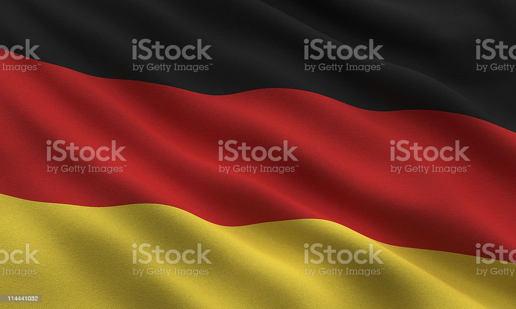 Flag of Germany royalty-free stock vector art