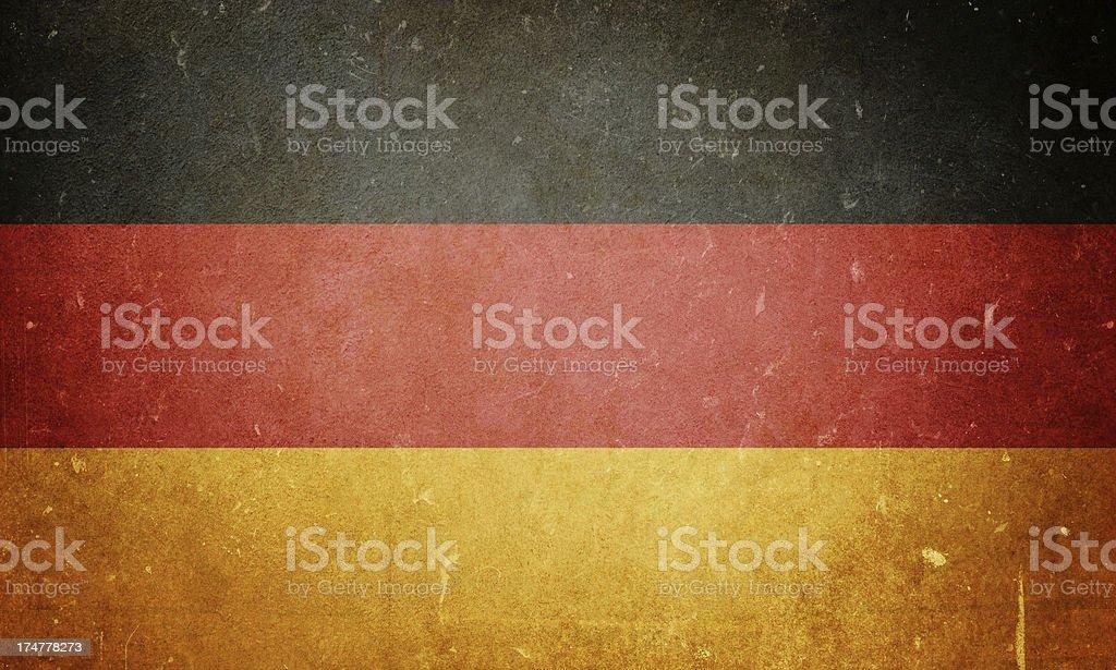 Flag of Germany royalty-free stock photo