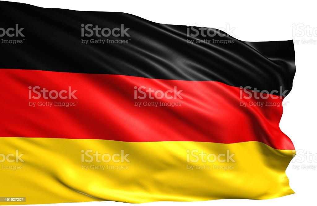 flag of Germany stock photo