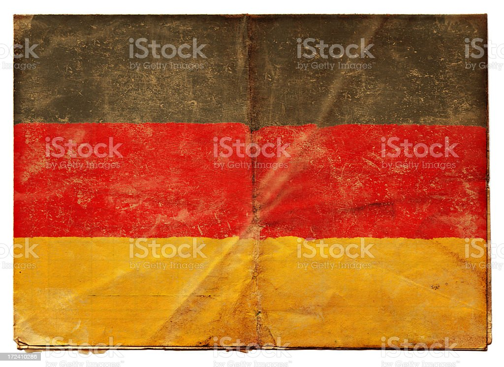 Flag of Germany XXL royalty-free stock photo