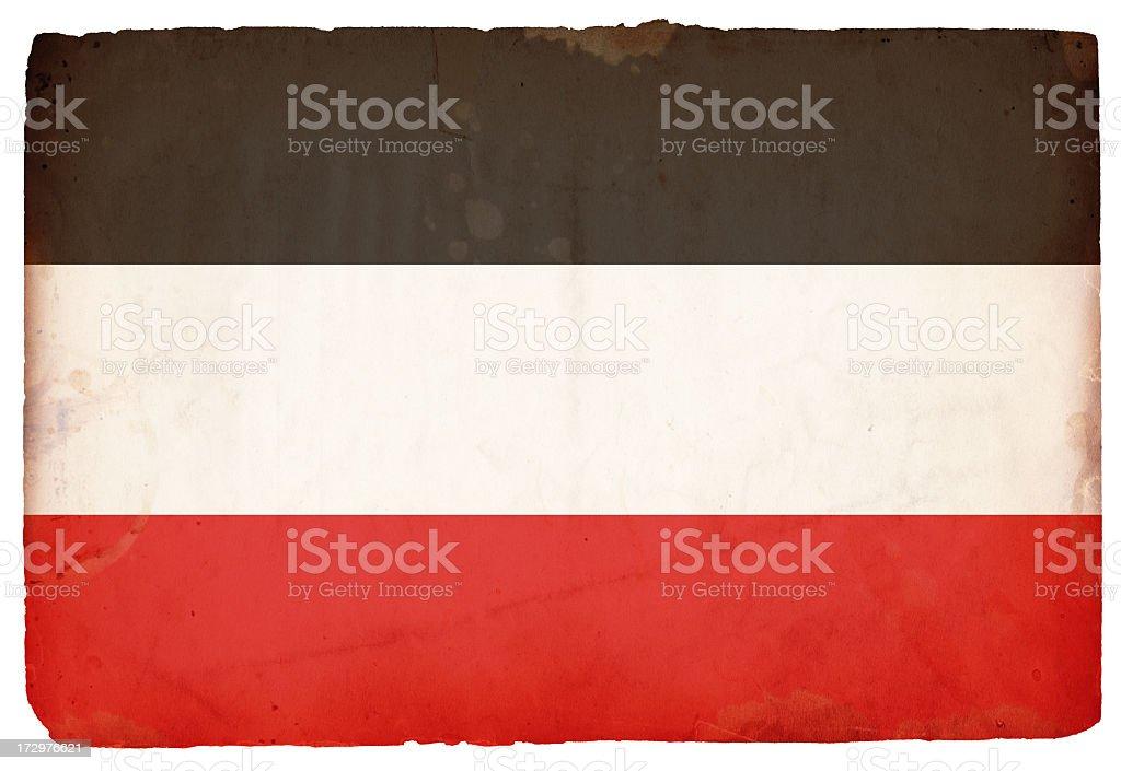 WWII Flag of Germany XXXL royalty-free stock photo