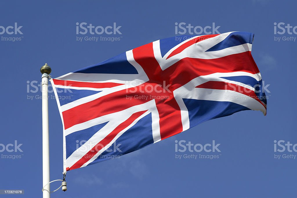 Flag of Great Britain royalty-free stock photo