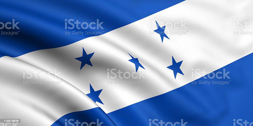 Flag Of Honduras royalty-free stock photo