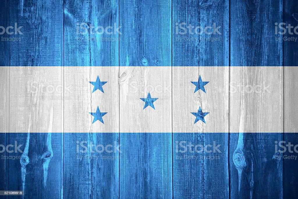 flag of Honduras stock photo
