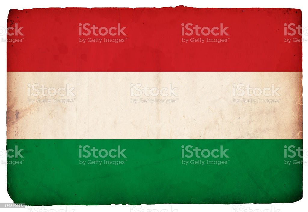 Flag of Hungary - XXXL stock photo