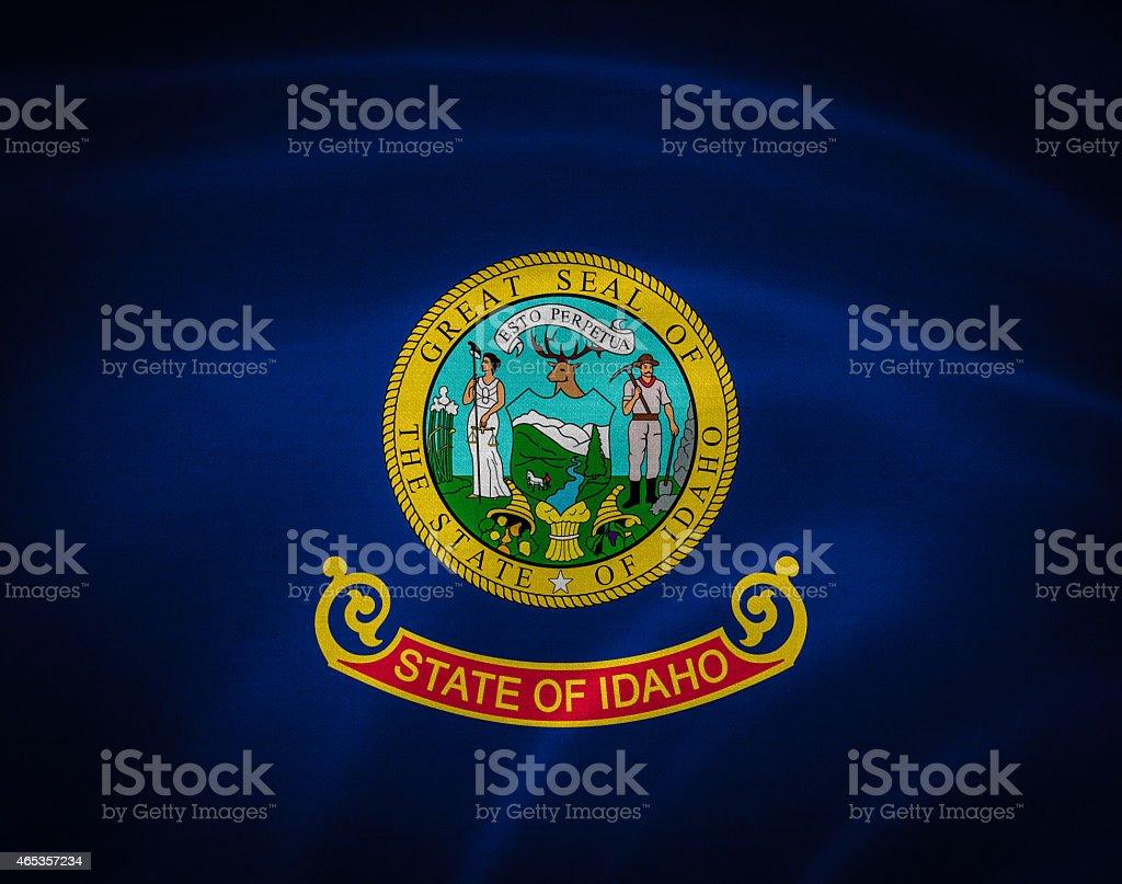 flag of idaho stock photo