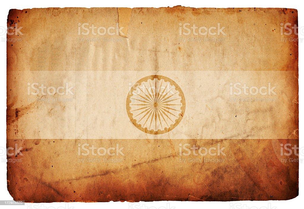 Flag of India XXXL stock photo