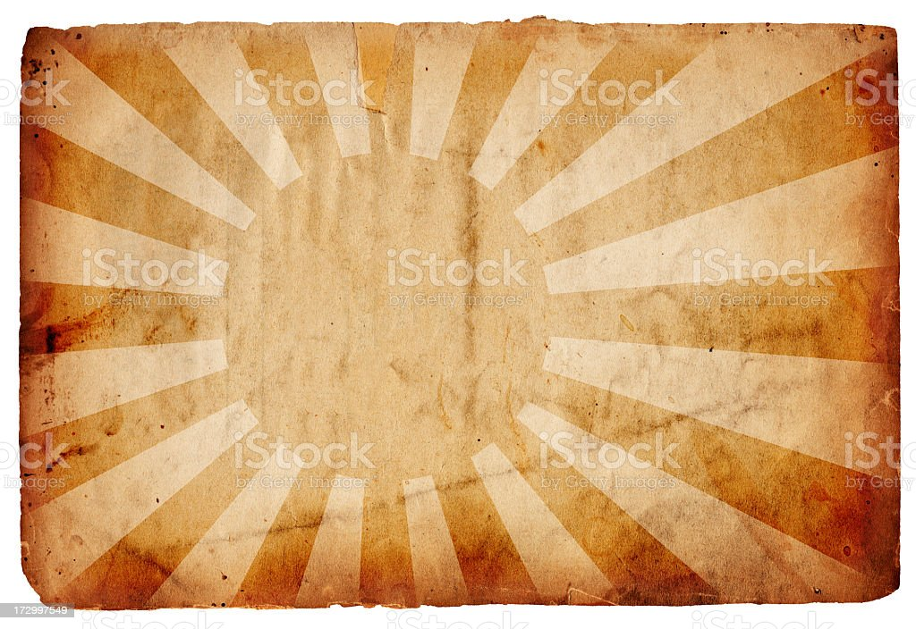 WWII Flag of Japan XXXL royalty-free stock photo