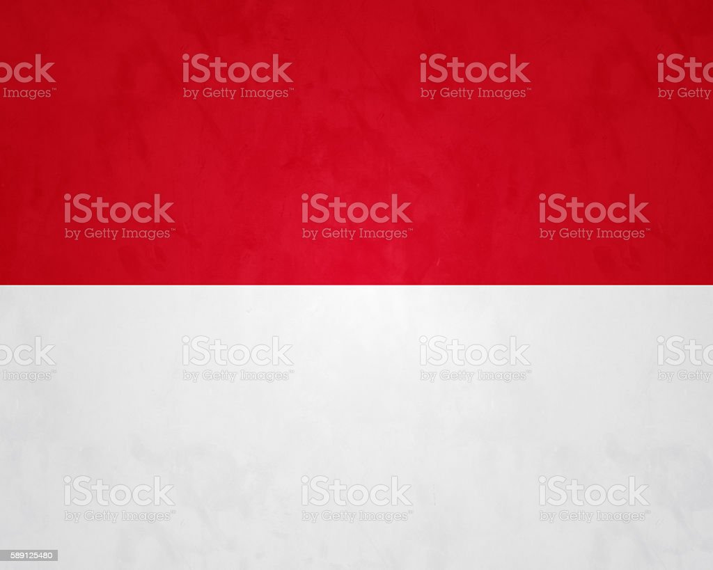 Flag Of Monaco stock photo