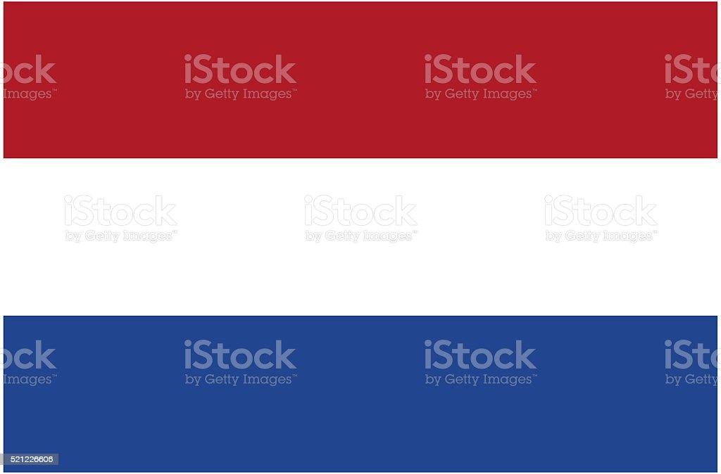 Flag of Netherlands stock photo