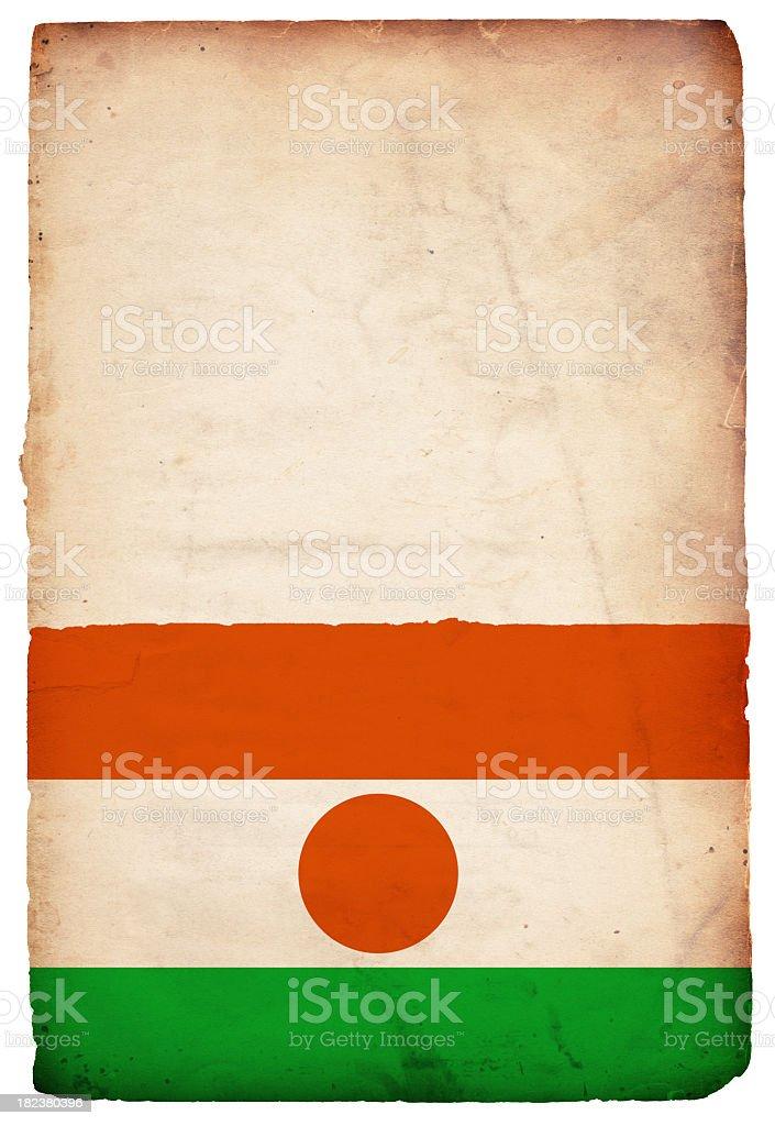 Flag of Niger - XXXL stock photo