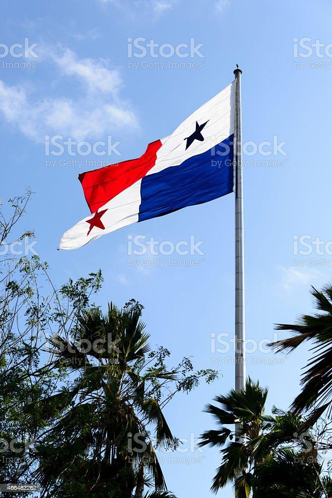 XXXL: Flag of Panama stock photo