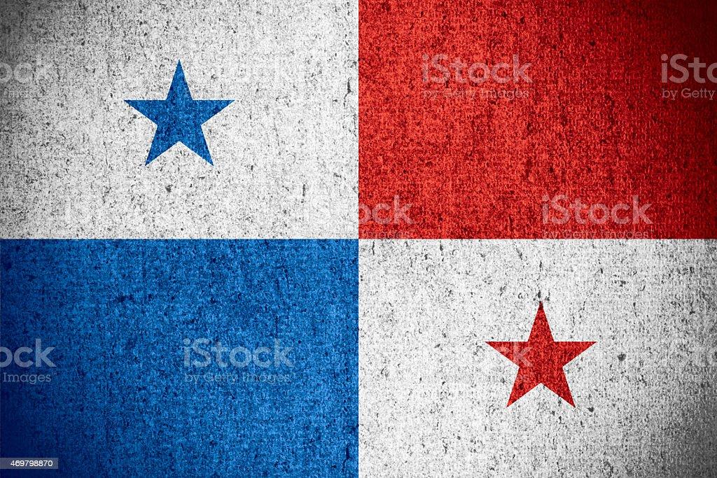 flag of Panama stock photo