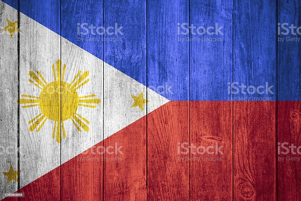 flag of Philipines stock photo