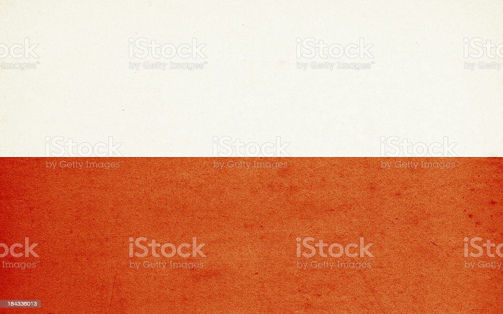 Flag of Poland Close-Up (High Resolution Image) royalty-free stock photo