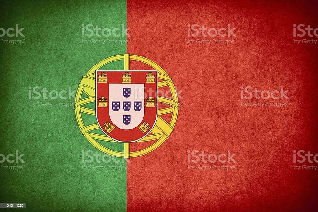 flag of Portugal stock photo