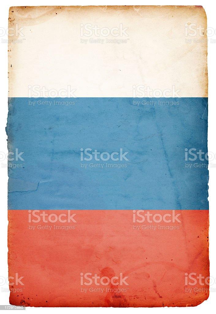 Flag of Russia XXXL royalty-free stock photo