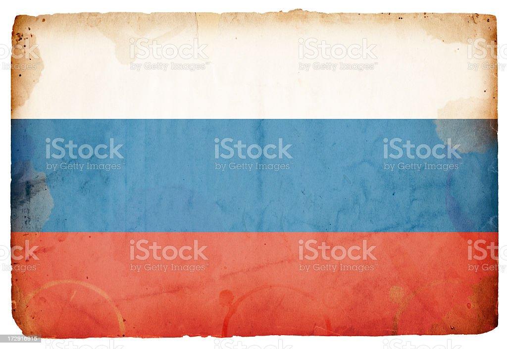 Flag of Russia XXXL stock photo