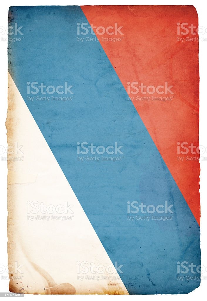 Flag of Russia XXXL royalty-free stock photo