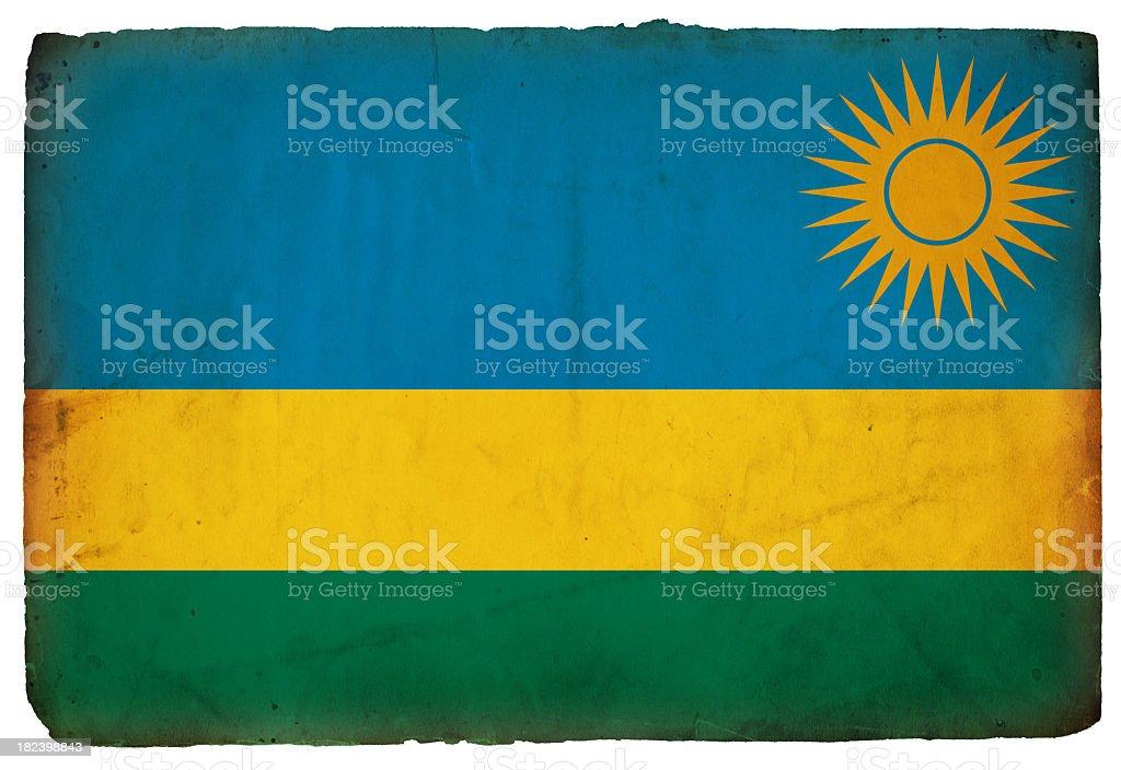 Flag of Rwanda - XXXL stock photo