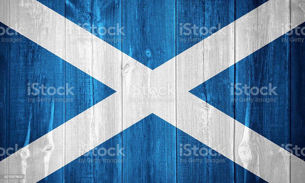 flag of Scotland stock photo