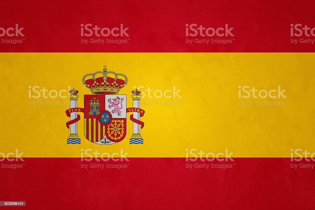 Flag Of Spain (Rojigualda) stock photo