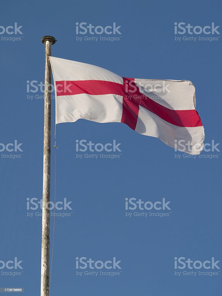 Flag of St. George stock photo