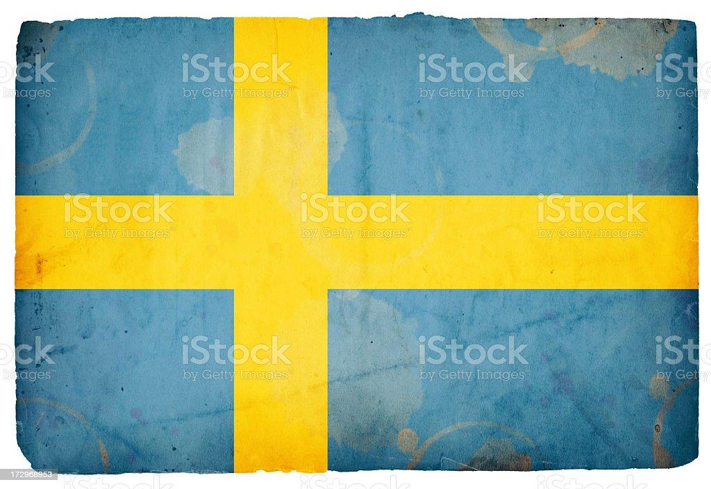 Flag of Sweden XXXL royalty-free stock photo