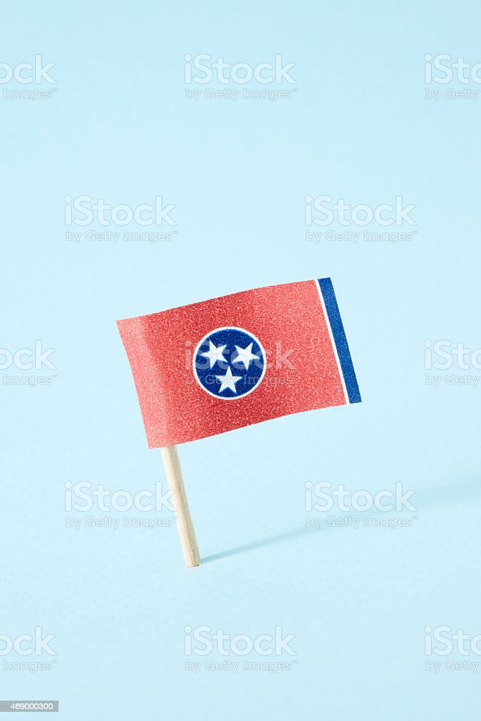 Flag of Tennessee stock photo