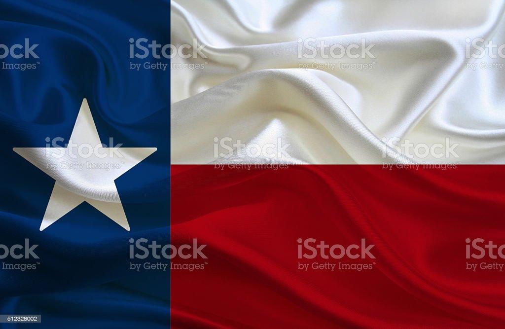 Flag of Texas stock photo