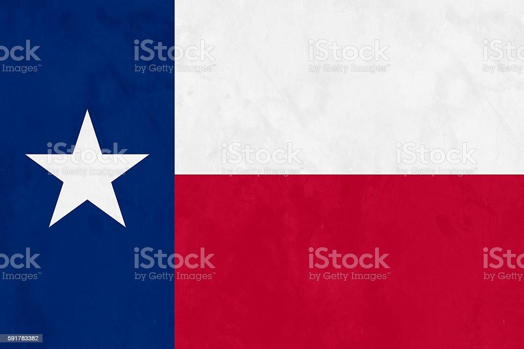Flag Of Texas (U.S. state) stock photo