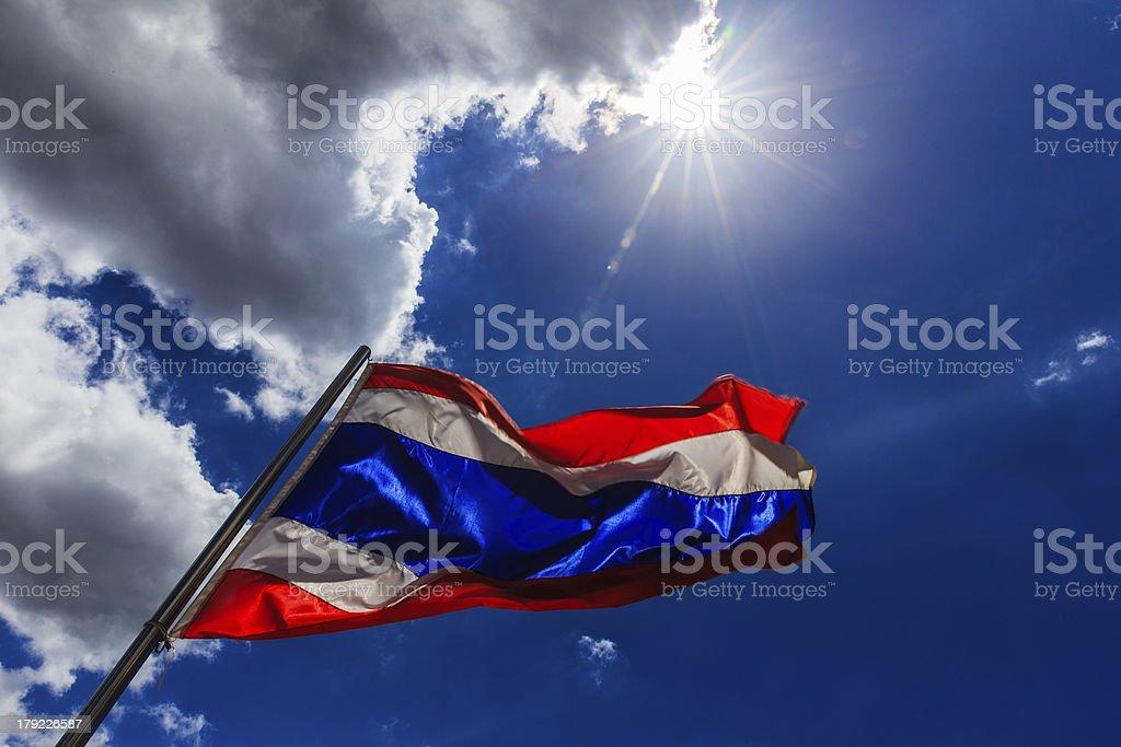 flag of thailand royalty-free stock photo