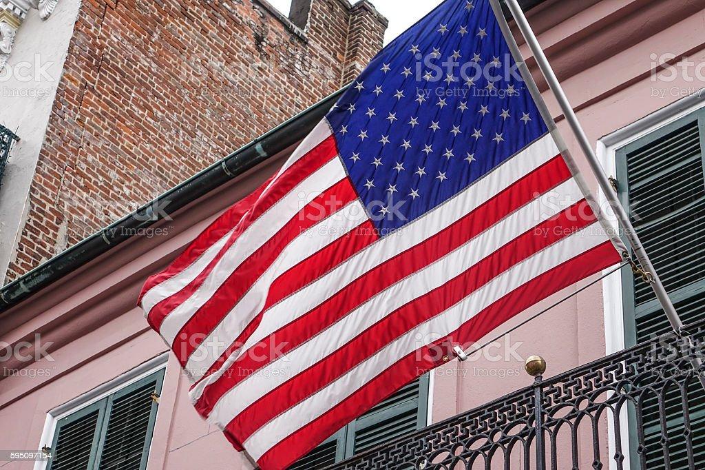 Flagge der Vereinigten Staaten  Lizenzfreies stock-foto