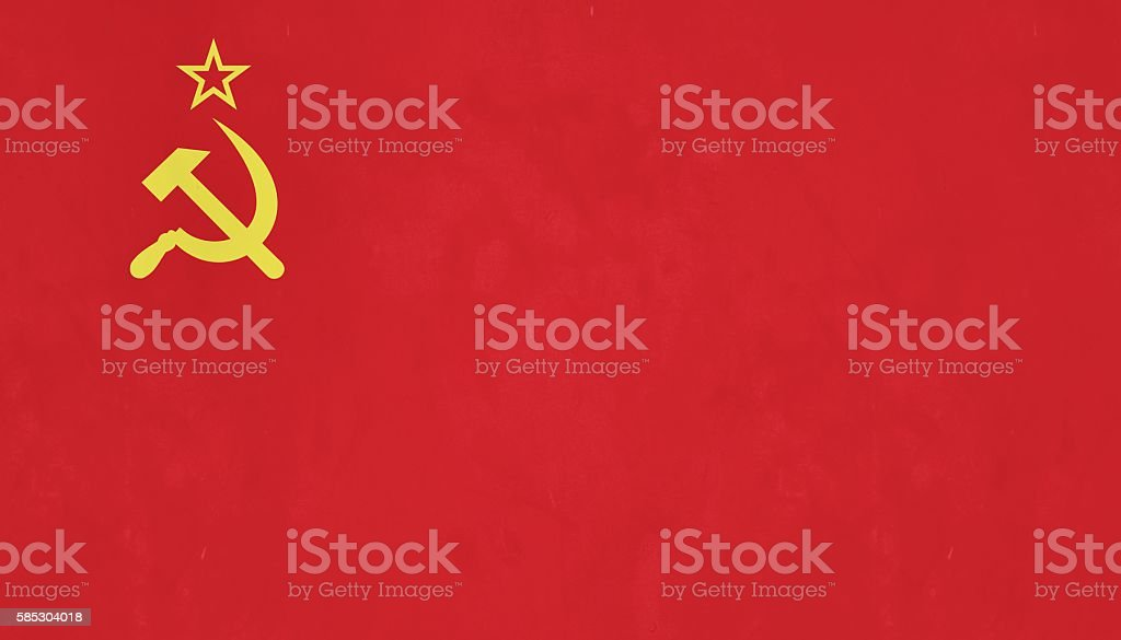 Flag Of The U.S.S.R. stock photo