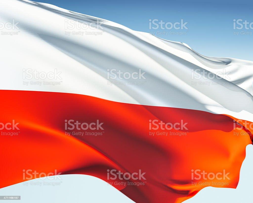 Flag of Thuringia stock photo