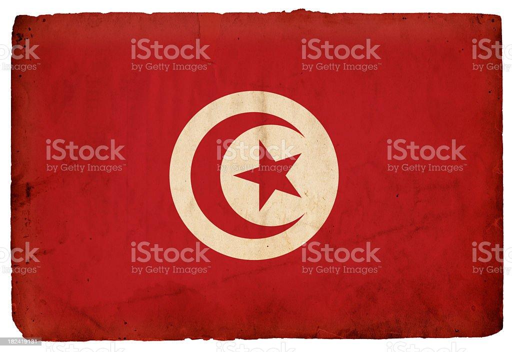 Flag of Tunisia - XXXL royalty-free stock photo