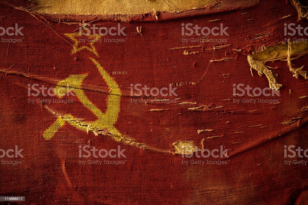 Flag of UDSSR stock photo