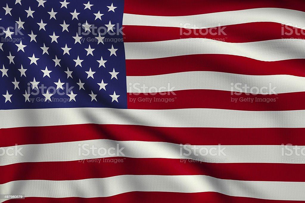 Flag of United States royalty-free stock photo