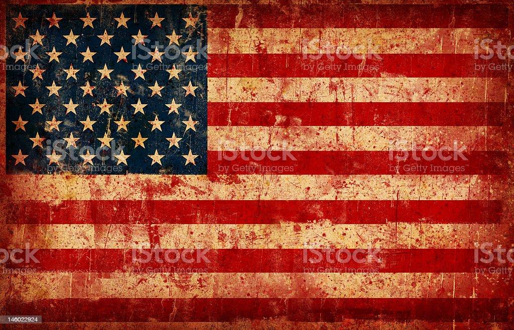 Flag of USA royalty-free stock photo