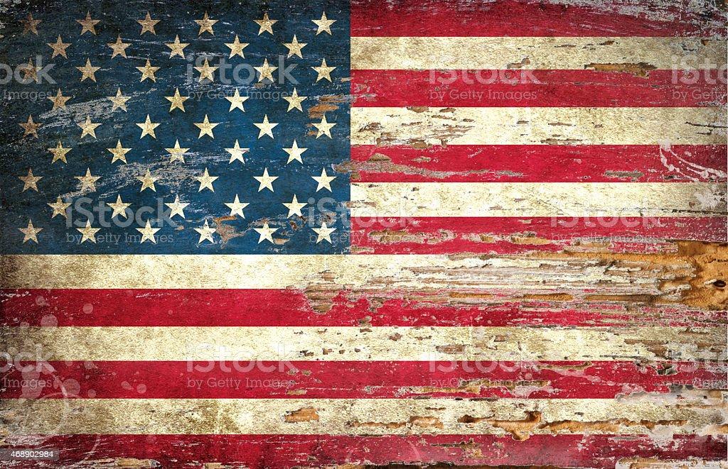 Flag of USA stock photo