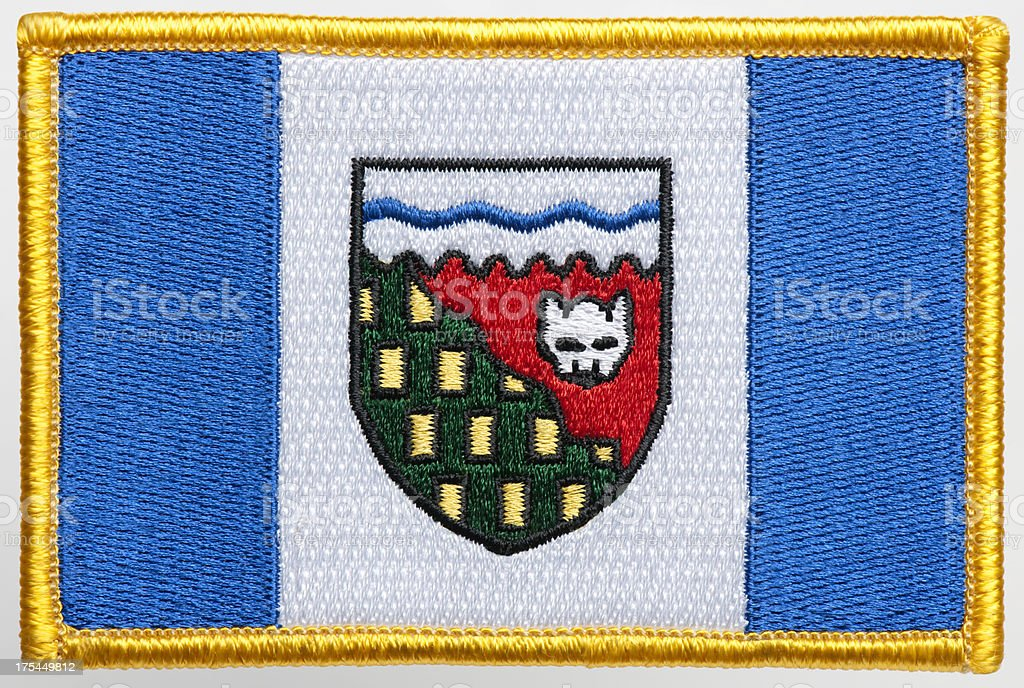 Flag Patch. royalty-free stock photo