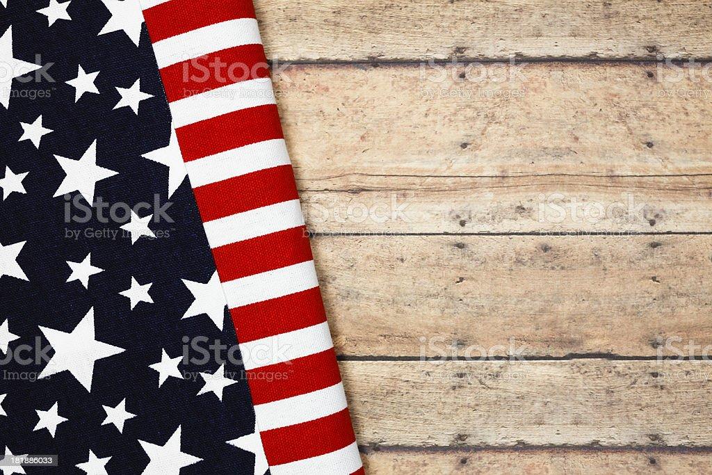 US Flag Picnic royalty-free stock photo