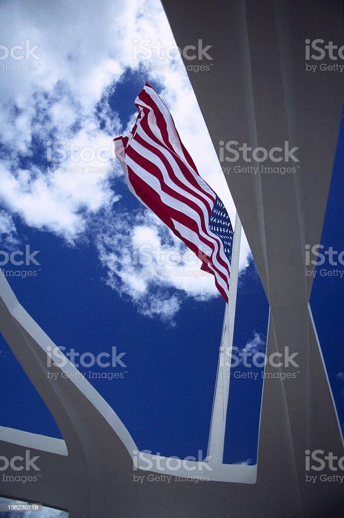 Flag royalty-free stock photo